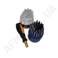 Набор отверток JY808- 31 PCS (31 насадка + ручка)