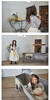 Необычный комплект для девочки - Морячка, фото 7