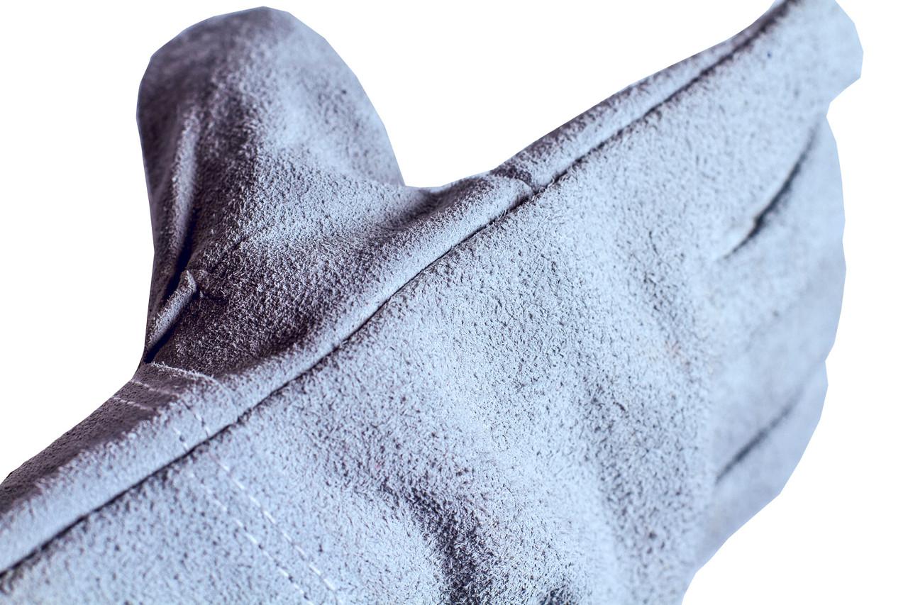 """Кожаные (спилковые) перчатки """"Titan""""  TRIDENT"""