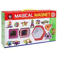 Магнитный конструктор Magical Magnet 40 деталей, фото 1
