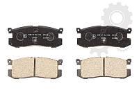 Колодки задние дисковые MAZDA 626 GD,GV88- GJY72648Z,GJ252648ZA