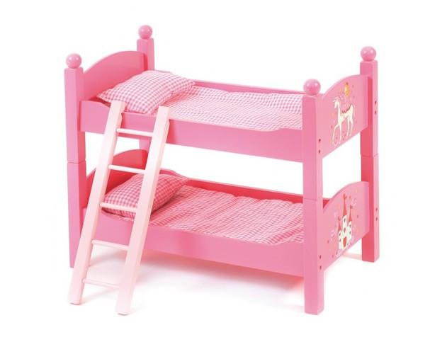 Двухъярусная кроватка для куклы - BAYER CHIC