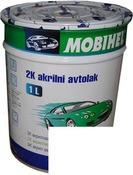 Автоэмаль  Mobihel  040 TOYOTA БЕЛАЯ 0.1. акрил.