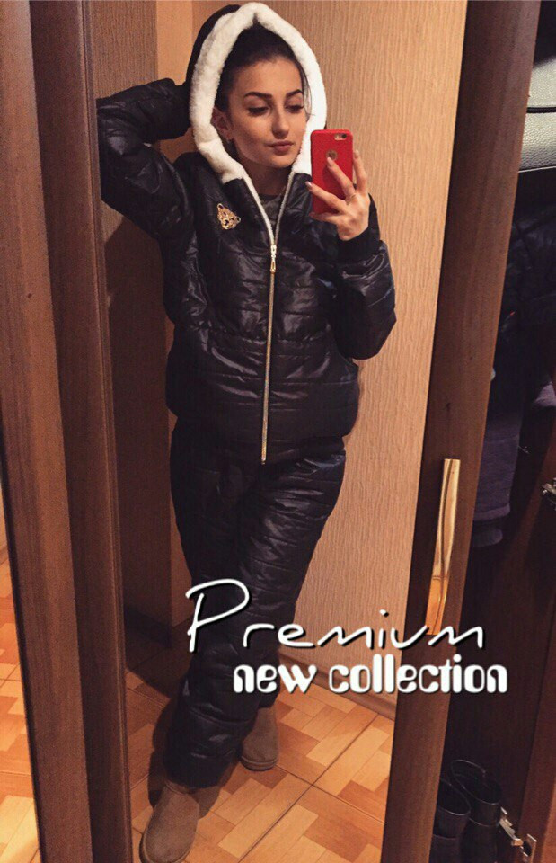 Тёплый женский костюм Эмма 42-54 р