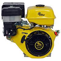 Бензиновый двигатель Кентавр ДВЗ-390БЕ (13,0 л.с., электростарт, шпонка Ø25.4мм, L=72,2мм)+ доставка