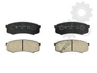 Колодки задние дисковые LEXUS RX;MITSUBISHI PAJERO IV;TOYOTA LAND CRUISER PRADO 70/80/90/120 84-