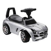 Толокар BABY MIX Mercedes SLS AMGmatte Black ,Grey metallic  Серый