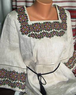 Жіноча вишиванка (модель 13) від