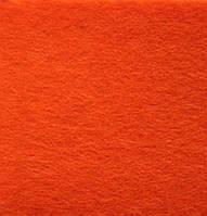 Фетр 312  оранжевый 40х50см толщина 3 мм