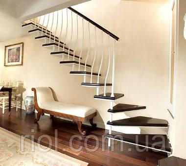 деревянная лестница подвесная