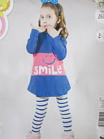 Трикотажные пижамки для девочек., фото 1