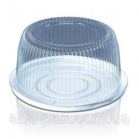 Пластиковая упаковка для тортов и кондитерских изделий, фото 2