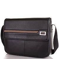 Мужская сумка-почтальонка из качественного кожезаменителя Bonis (Бонис)