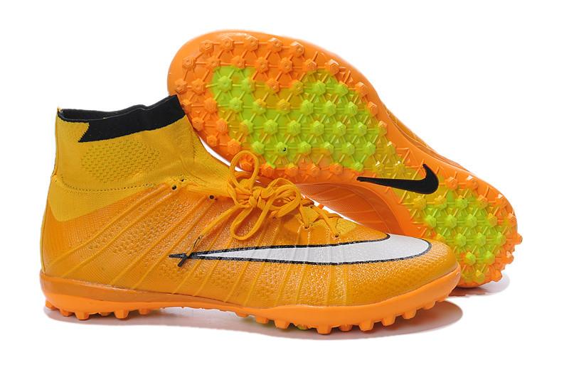 Сороконожки 2015 Nike Elastico Superfly IC Turf yellow-white