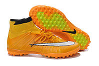 Сороконожки 2015 Nike Elastico Superfly IC Turf yellow-white, фото 1