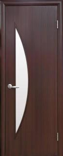 """Межкомнатные двери """"Луна""""ольха3д,орех3д, фото 2"""