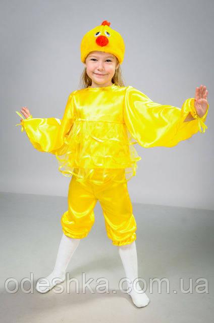 Дитячий карнавальний костюм Курчати