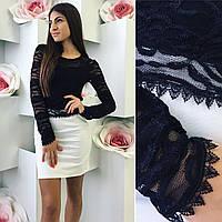 Платье Миранда верх гипюр