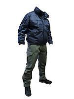 """Куртка тактическия утепленная мод. """"Stratagem-М2"""" (темно-синяя) с флисовой сьемной подстежкой"""