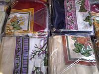 Платок головной цветной 75*75 см, платки шелковые оптом, фото 1
