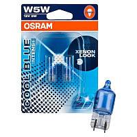 """Автомобильные габаритные галогенные лампы """"OSRAM"""" W5W (12V)(CBI)(4000K)"""