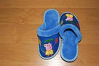 Детские домашние тапочки для девочки Белста с закрытым носочком Пеппа р-р 30