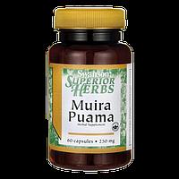 Muira Puama (10:1) 250 мг 60 капс  АФРОДИЗИАК