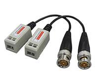 Комплект приёмо-передатчиков AHD/HDCVI/HD-TVI видеосигнала по витой паре HD-705