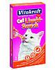 VITAKRAFT Cat  liquid snack 6 штук. утка