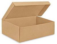 Коробка для обуви 350х250х100 бурая