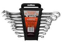 Набор ключей комбинированных, 6 - 32 мм, 25шт., CrV, полированный хром MATRIX
