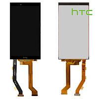 Дисплейный модуль (дисплей + сенсор) для HTC One E9 Plus, черный, оригинал