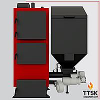 Твердотопливные котлы длительного горения на пеллетах КТ2ЕSH 75 кВт
