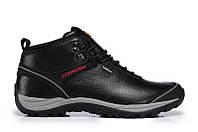"Ботинки Merrell Faster High ""Blаck Grey"" - ""Черные Серые"" (Копия ААА+), фото 1"