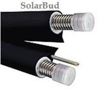 Трубопровод NANOFLEX DN25, двойной, черный цвет, сталь 316L, силиконовый кабель