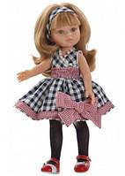 Кукла Paola Reina Карла в платье в клеточку 32 см (04587)