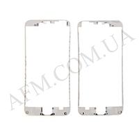 Рамка крепления дисплея iPhone 6 Plus 5.5 белая