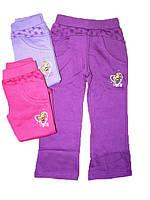 Спортивные штаны для девочек с начесом, Grace, размер 92, арт. 1382