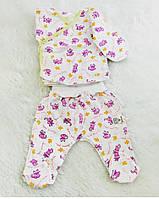 Ползуны для новорожденного (футер)