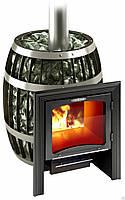 Термофор САЯНЫ VITRA - Дровяная банная печь-сетка (8-18 м. куб., 120 кг камней)