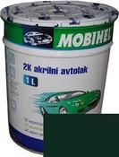 Автоэмаль Mobihel 307 Зеленый Сад 0.1л, акрил.