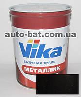 Автоэмаль металлик автокраска Vika Черный газ