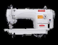 1-игольная машина для тяжелых материалов с двойным продвижением и увеличенным челноком, автомат BRUCE 6380E-4B