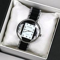 Часы женские наручные Chanel Diana Black белый циферблат магазин часов