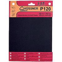 Бумага наждачная Kussner PW20 600 водостойкая (230 х 280 мм) 3 шт