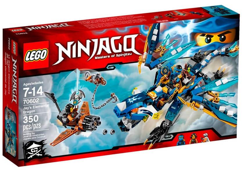 LEGO Ninjago Дракон стихий Джея 70602