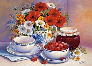 Картина по номерам Приглашение на чай