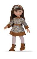 Кукла Paola Reina Керол в коричневом 32 см (04586)