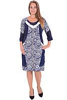 Платье-туника декорированное замком