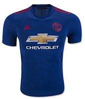 Футбольная форма Манчестер Юнайтед (Manchester United) 2016-2017 Выездная (Синяя)